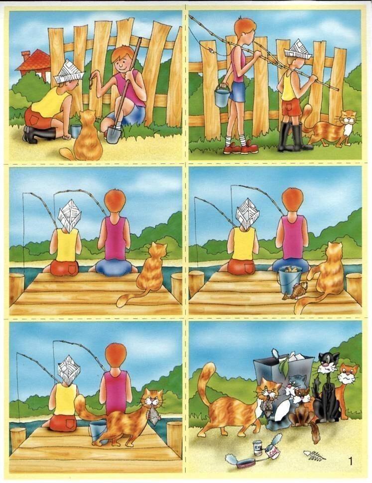 Истории в картинках для детей развитие речи